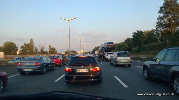 Traffic, Bordeaux ring road